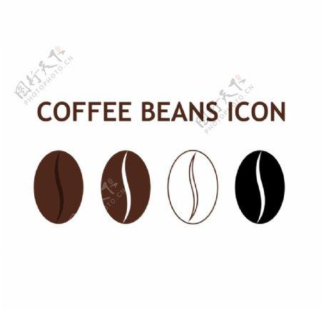 咖啡豆图标图片