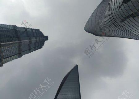 上海浦东高楼图片