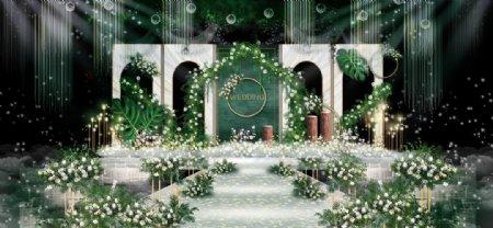 婚庆舞台效果图图片