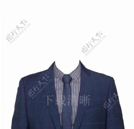 证件照男西装素材图片