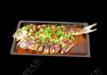 传统烤鱼图片