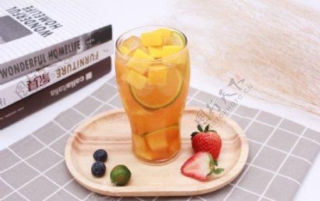 柠檬芒果汁柠檬水芒果汁图片
