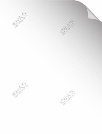 白纸翻页图片