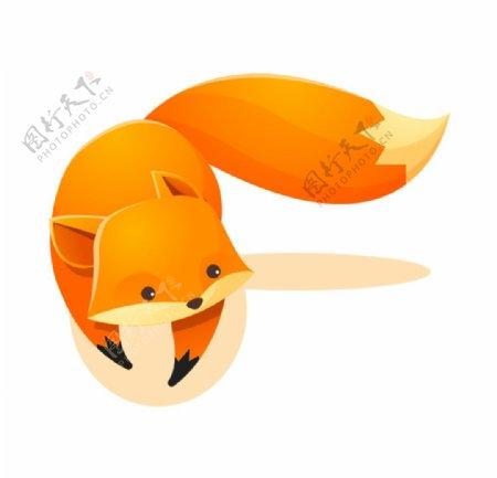 可爱手绘小狐狸图片