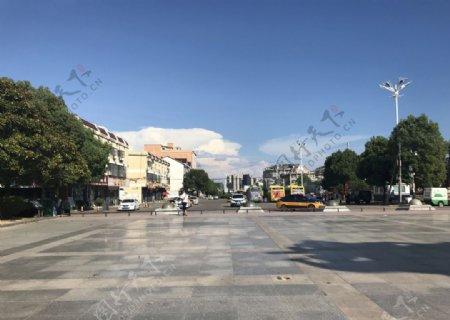 火车广场图片