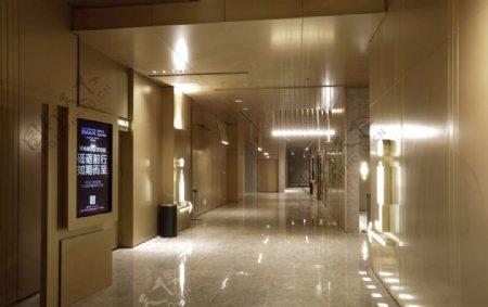 博纳影城江北天街店走廊照片实拍图片
