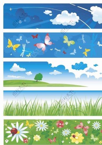 花草素材背景图片